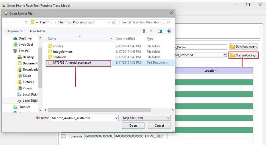 Cara flash lenovo a328 via flashtool ( +firmware, usb driver & sp.